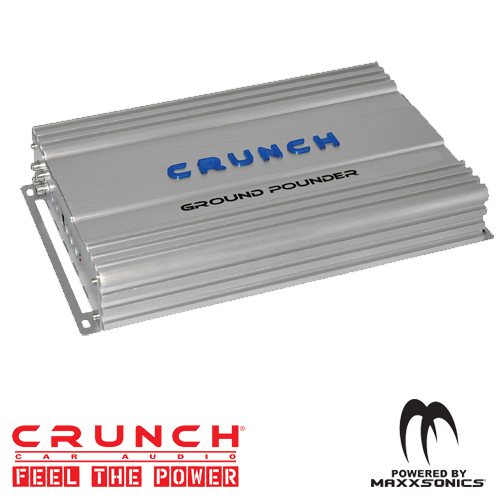 Crunch GP3000D Pro Ground Power Mono Amplifier