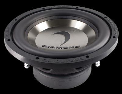 Diamond Audio D110D2.2 400W Dual Voice Coil Subwoofer