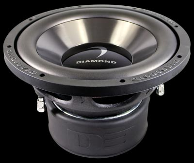 "Diamond Audio D315D2.2 15"" 1000W Dual Voice Coil Subwoofer"