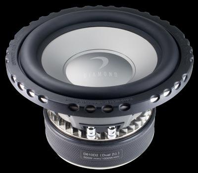 """Diamond Audio D610D2 10"""" 1000W Dual Voice Coil Subwoofer"""