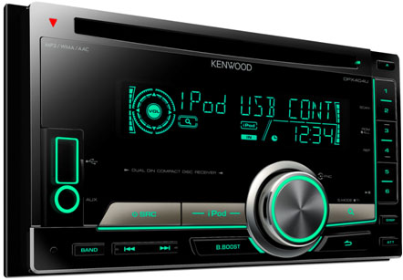 Kenwood DPX-404U Double DIN CD/MP3/USB player