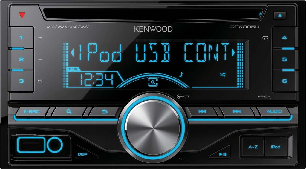 Kenwood DPX-305U Double Din Receiver with USB Input