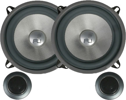Fli Comp 5 2 Way Component Speaker System