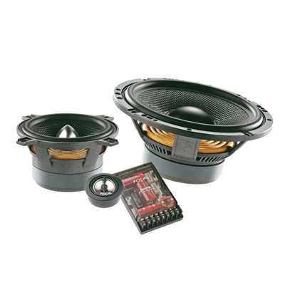 Focal 165A3 3 Way Component Speaker System