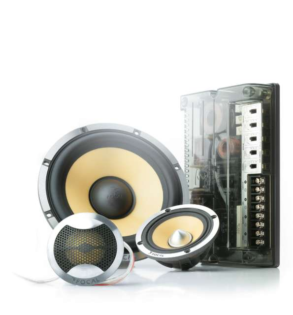 Focal 165KRX3 3 Way Component Speaker System