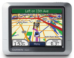 Garmin Nuvi 200 Protable Navigation Unit with UK Maps