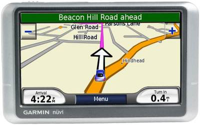 Garmin Nuvi 200 Wide Protable Navigation Unit with UK Maps