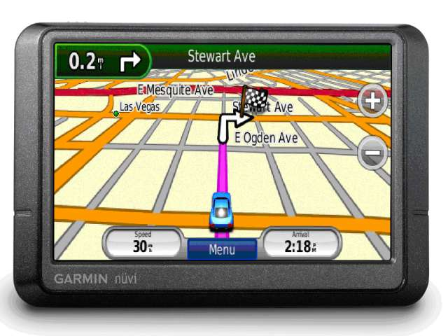 Garmin Nuvi 265W UK & Europe Portable Navigation