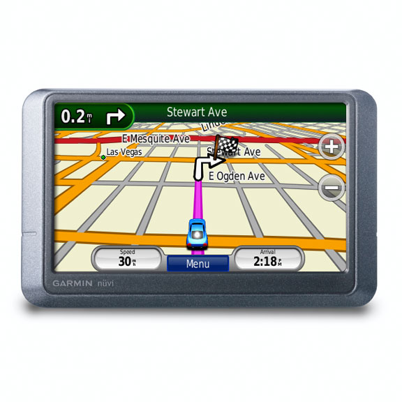 Garmin Nuvi 205W UK & Ireland Portable Navigation