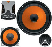 Hertz ESK163L.3 3 way Component Speaker System