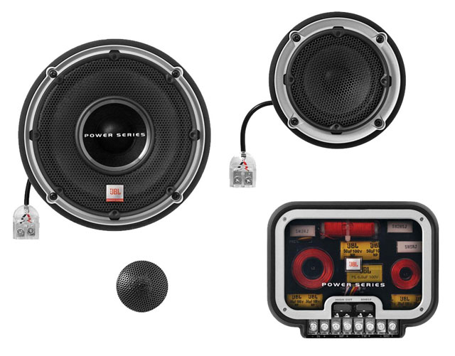 JBL P6563c 3 Way Power Component Speaker System