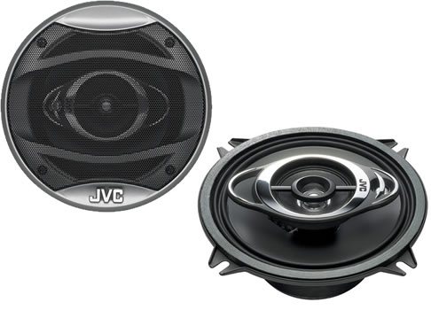 JVC CS-HX537 3 Way Coaxial Speaker System