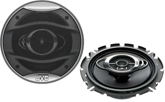 JVC CS-HX637 3 Way Coaxial Speaker System