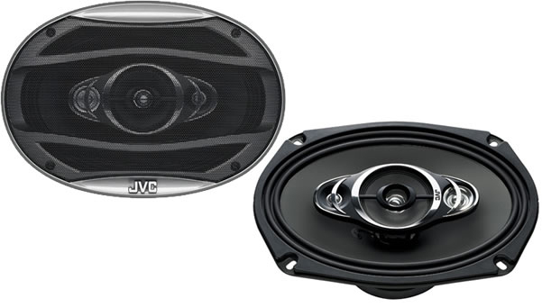 JVC CS-HX6947 4 Way Coaxial Speaker System