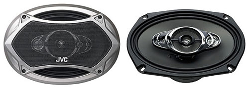 JVC CS-HX6957 5 Way Coaxial Speaker System