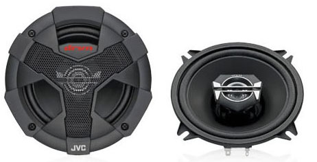 JVC CS-V527U 2 Way Coaxial Speaker System