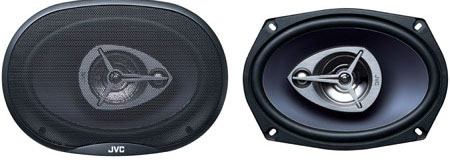JVC CS-V6935 3 Way Coaxial Speaker System