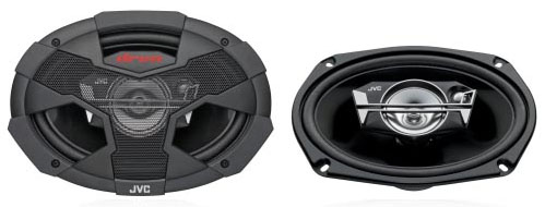 JVC CS-V6937U 3 Way Coaxial Speaker System