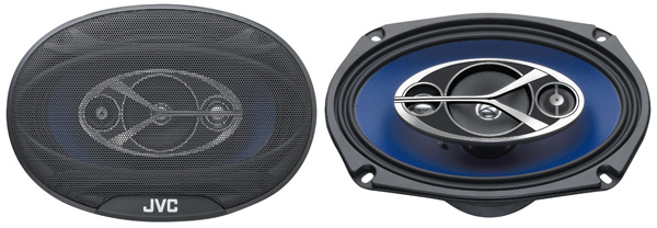 JVC CS-V6946 4 Way Coaxial Speaker System