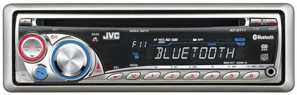 JVC KD-BT11 CD/TUNER/Bluetooth connectivity