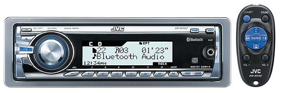 JVC KD-BT22 CD/Tuner/Bluetooth connectivity