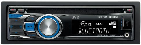 JVC KD-R721BT CD/MP3/USB/iPod Ready Tuner