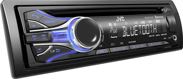 JVC KD-R731BT CD/MP3/USB/iPod Receiver With Bluetooth Built In