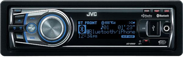 JVC KD-R901 CD/MP3/WMA Receiver with USB & Bluetooth