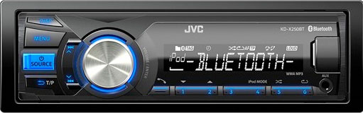 JVC KD-X250BT USB/AUX With Bluetooth Receiver