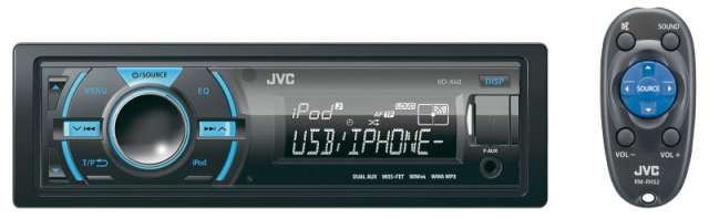 JVX KD-X40 USB With Dual AUX & Bluetooth Ready Receiver