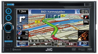 JVC KW-NT3 Double Din Navigation with CD/MP3 & WMA