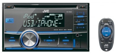 JVC KW-R500 Double Din CD/MP3/USB/iPOD Receiver