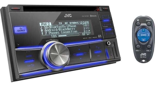 JVC KW-SD70BT Double DIN CD/MP3/SD/USB & iPod Receiver