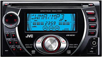 JVC KW-XG701 Double Din CD/MP3/WMA Receiver with USB