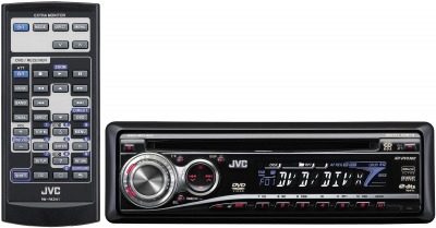 JVC KD-DV5302 CD/MP3 Receiver With DVD Playback
