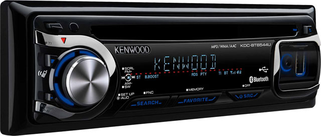 Kenwood KDC-BT6544U CD/MP3/WMA Receiver with USB & Bluetooth
