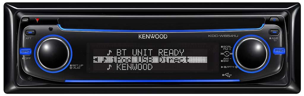 Kenwood KDC-W6541U CD/MP3/WMA Receiver with USB Input