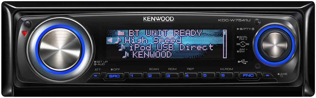 Kenwood KDC-W7541U CD/MP3/USB Receiver