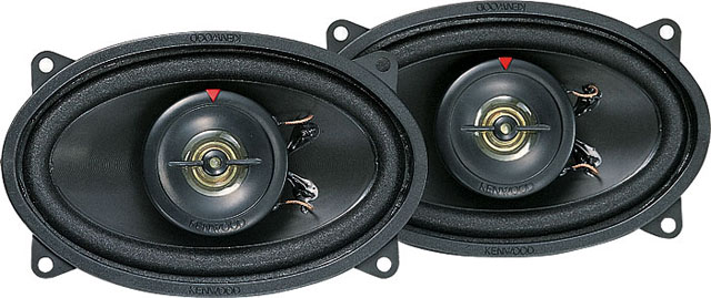 Kenwood KFC-4625 2 Way Coaxial Speaker System
