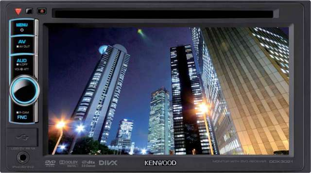 Kenwood DDX-3021 Touch Screen DVD/CD Monitor With iPod Control
