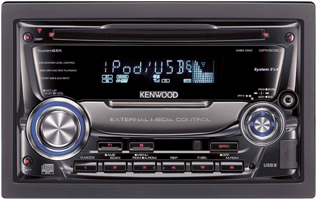 Kenwood DPX502U DOUBLE DIN CD/MP3/USB