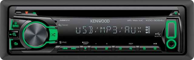 Kenwood KDC-3054UG CD/MP3/AUX Receiver With USB Input