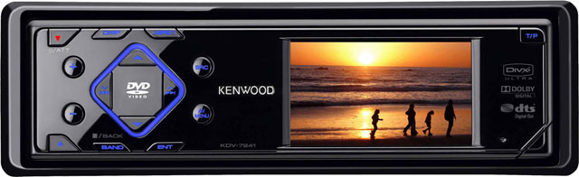 Kenwood KDV-7241 CD/WMA/MP3/DVD Receiver