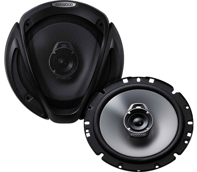 Kenwood KFC-E1762 3 Way Coaxial Speaker System