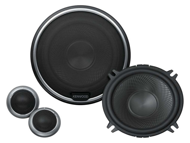 Kenwood KFC-S503P 2 Way Component Speaker System