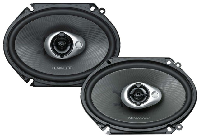 Kenwood KFC-S6893C 3 Way 240W Speaker System