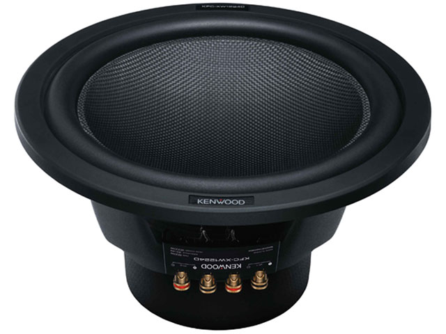 "Kenwood KFC-XW1224D 12"" 2000W Dual Voice Coil Subwoofer"