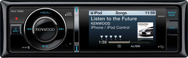 Kenwood KIV-700 Mech-Less USB Receiver with iPod Control