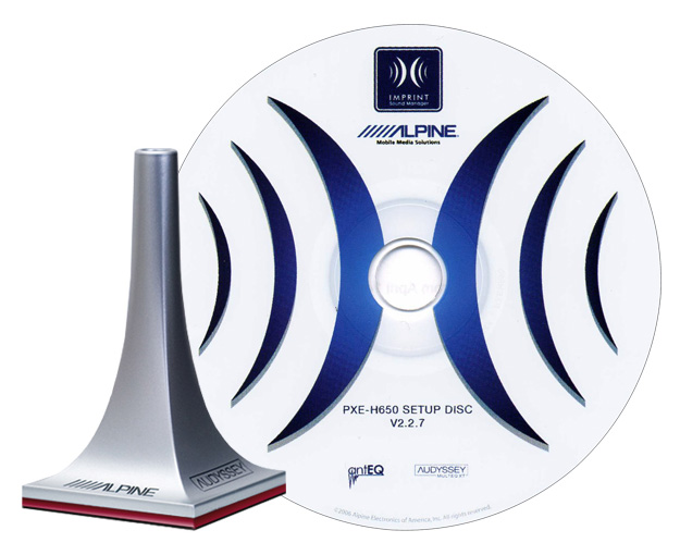 Alpine KTX-H100 Imprint Sound Calibration Kit