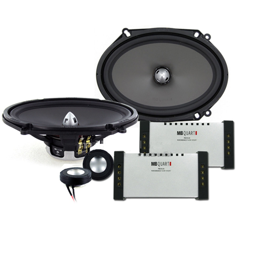MB Quart PVI268 2 Way 90W Component Speaker System